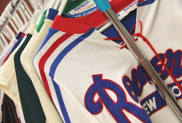 A Rack of Rad Jerseys
