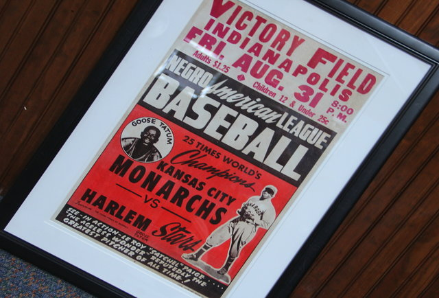 Negro League Game Poster