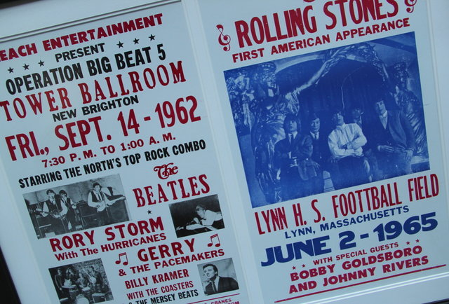 Beatles & Stones Tour Posters