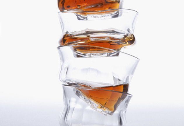 Tipsy Whiskey Tumblers