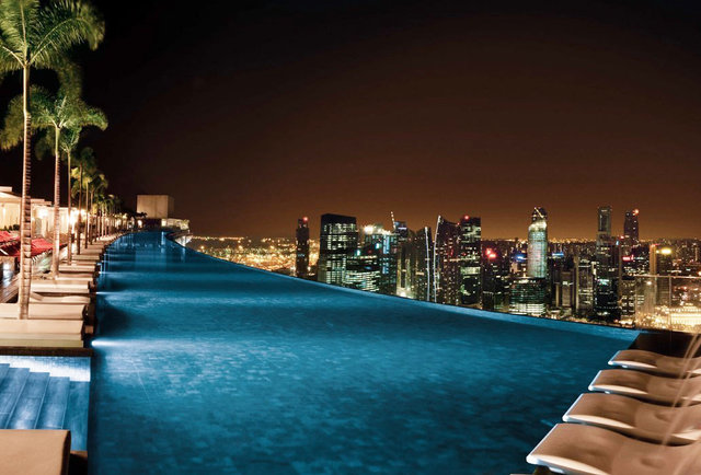 The 10 best hotel pools in the world thrillist for Top best hotel in the world