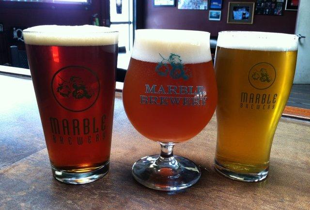 Marble Brewery beers