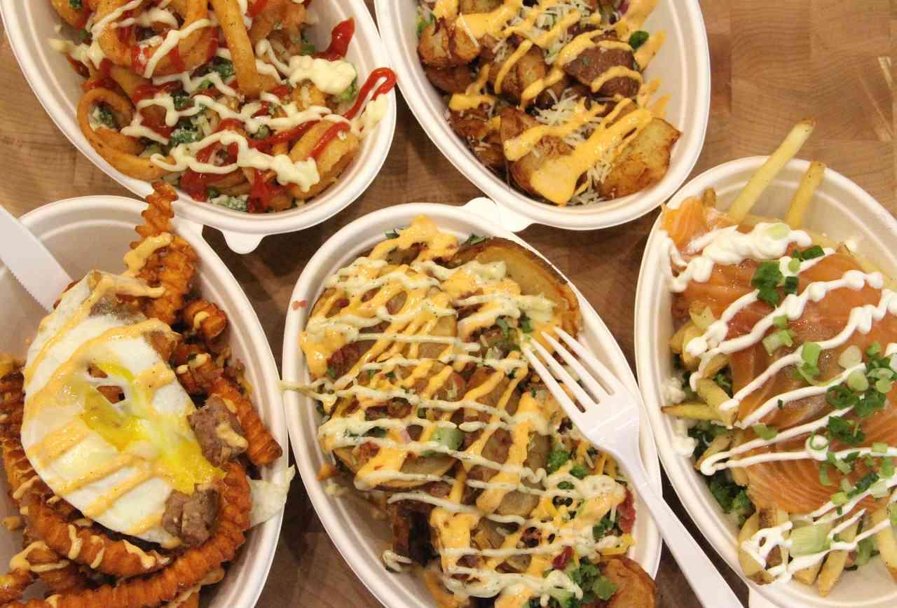 Potatopia - Cheese Fries NYC