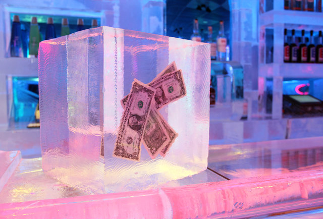 Frost Ice Bar Drink In A Bar Made Entirely Out Of Ice