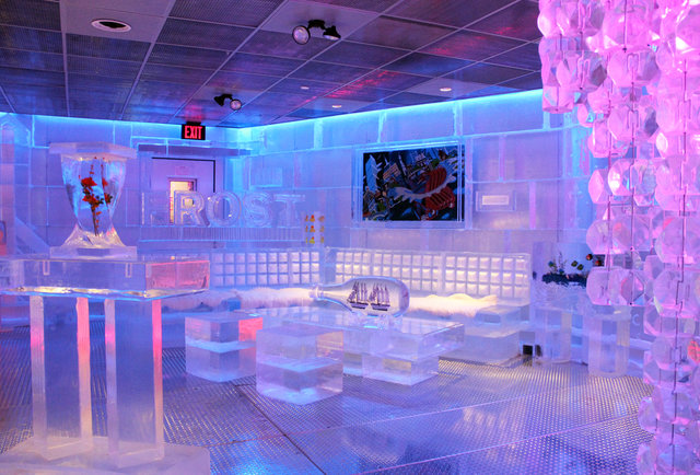 Interior of Frost Ice Bar