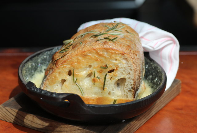 RN74's Warm Epoisses Bread