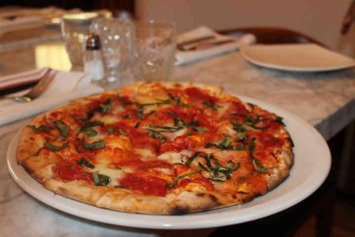 Osteria dei Ganzi pizza
