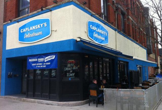 Caplansky's Delicatessen Toronto exterior