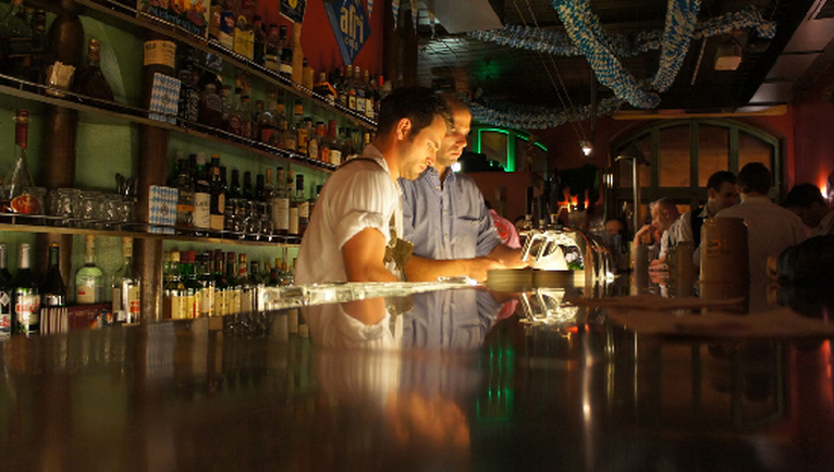 Bartenders at Padres