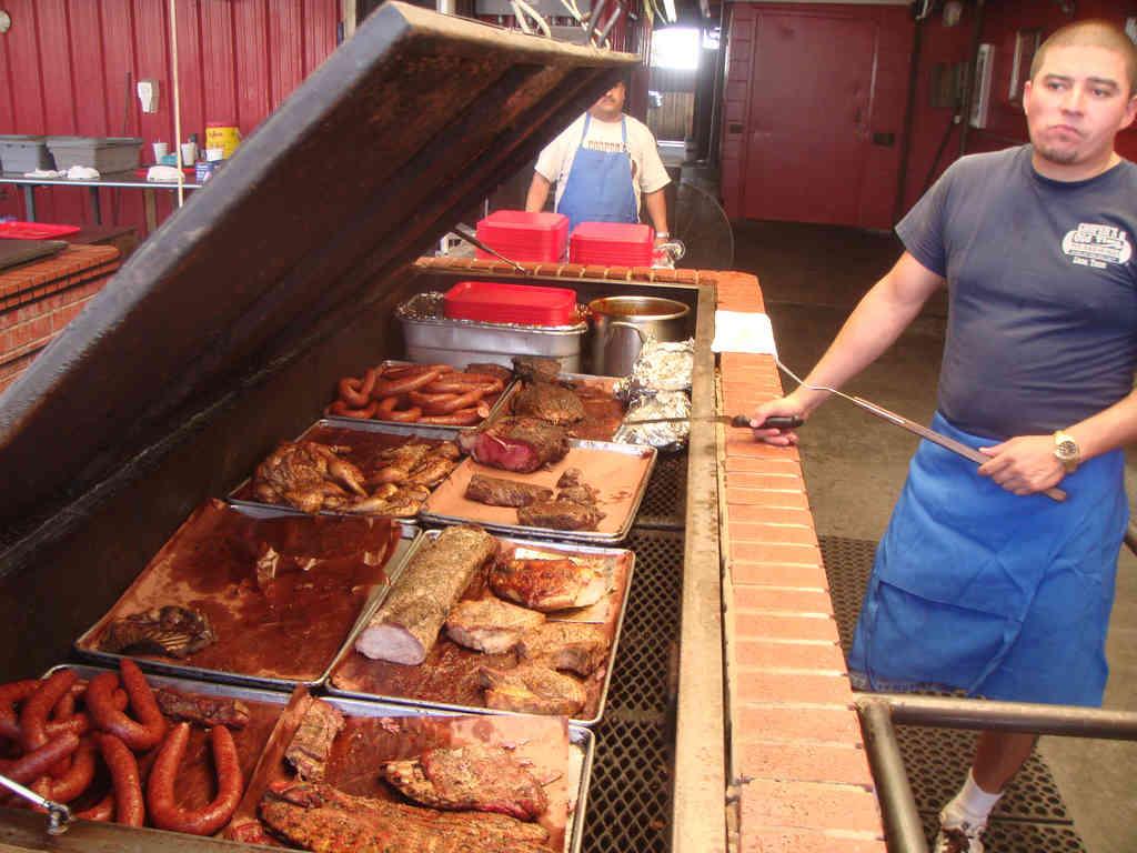 Cooper's BBQ in Llano, Texas