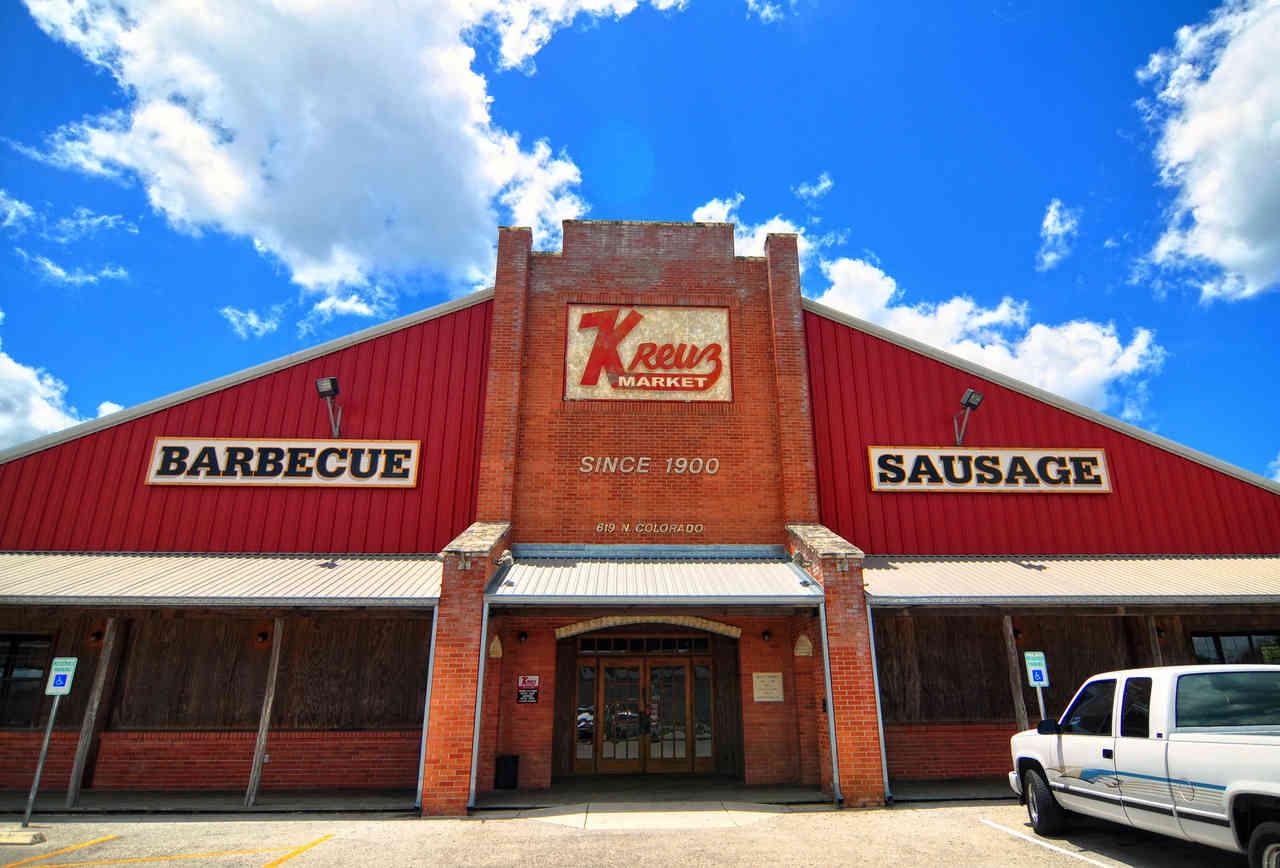 Kreuz Market in Lockhart Texas