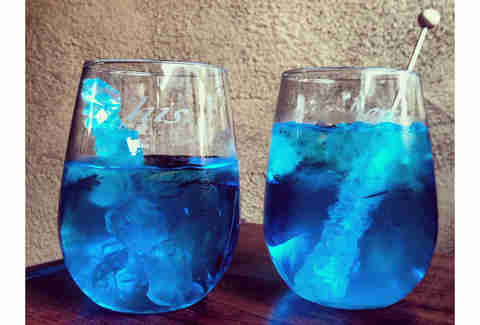 Breaking Bad blue cocktail
