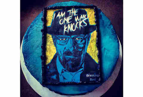 Breaking Bad I am the one who knocks cake