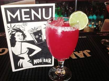Mob Bar cocktail - Las Vegas