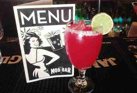 Mob Bar cocktail - Las Vegas