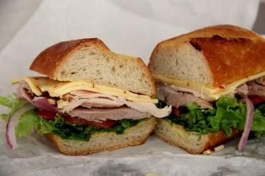 Roast Turkey Sandwich, Arguello Market SF