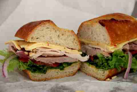 Roast Turkey Sandwich, Arguello Market SF