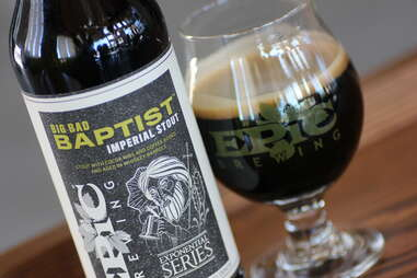 Big Bad Baptist Imperial Stout at Epic Brewing