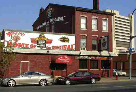 Anchor Bar in Buffalo, New York is the place that served the first-ever Buffalo wings.