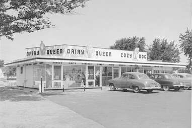 Cozy Dog in Springfield, Illinois is the birthplace of the corn dog.