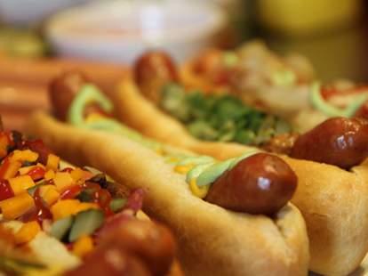Samson's gourmet Hot Dogs, Dallas TX