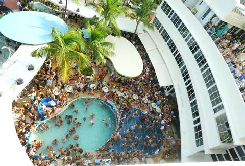 Pool Party at The Clevelander
