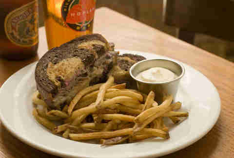 duck reuben hopleaf chicago sandwich