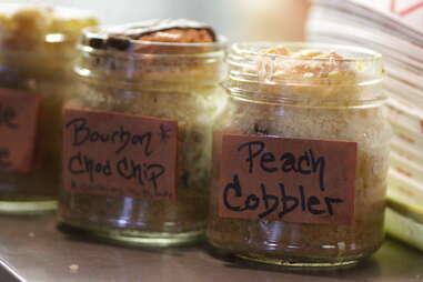 Pie jars - NYC BBQ - Beast of Bourbon