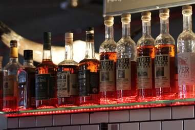 Whiskey Flights - Beast of Bourbon - BBQ NYC