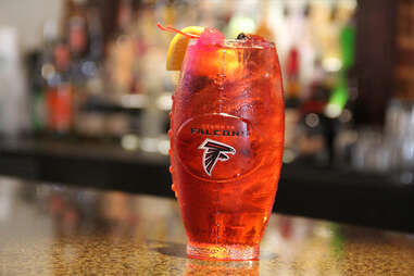 Park Bar cocktail - Atlanta