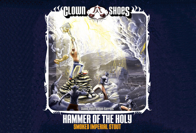 So, Clown Shoes uses holy water in their new beer, and got it from a company called \