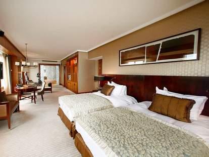 Suite inside Hotel Okura