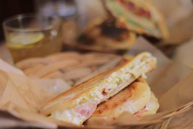 Le Cubain sandwich at Olive & Gourmando