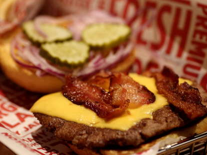 BBQ Bacon Burger at Smashburger