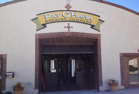 Pat O'Hara Brewing Company sign