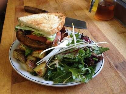 Sandwich at Le Pick Up