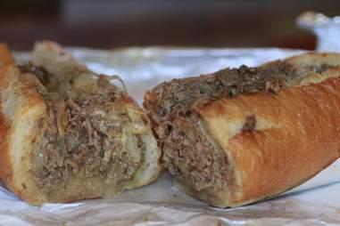 Shut Up and Eat's Cheesesteak portland