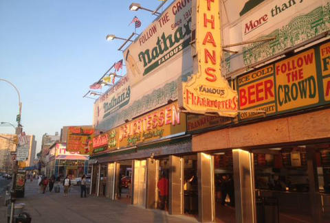 Nathan's Famous exterior