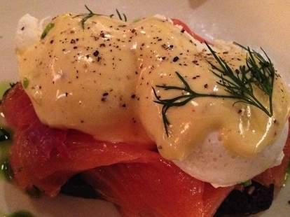 ACME poached eggs