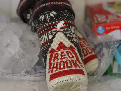 Redhook sweater koozie