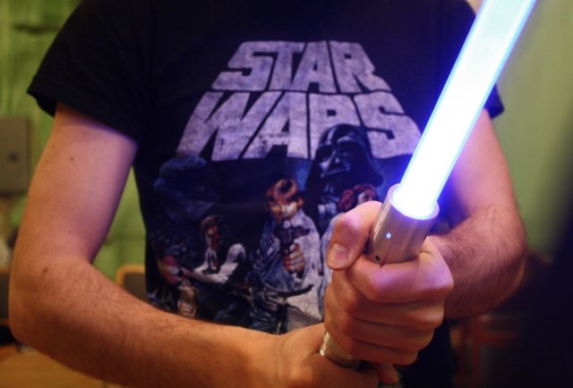 Wanna learn to dominate dudes with a lightsaber? Yes, yes you do.