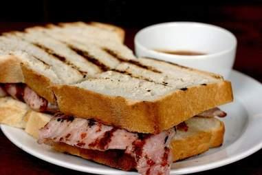 St John bacon sandwich london