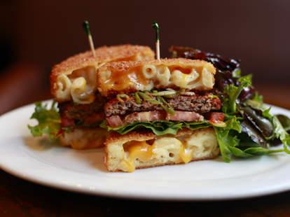 Mac Attack Burger from Rockit Burger Bar