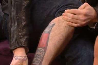 Jackson Rathbone Heinz tattoo