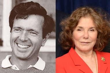 John Heinz and Teresa Heinz