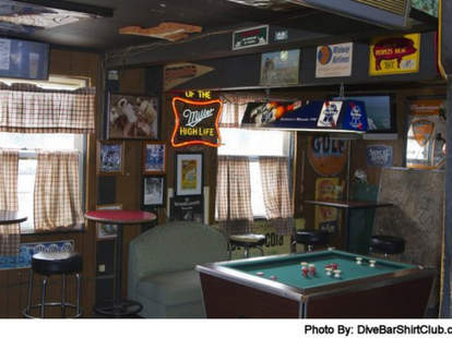 Back Door Tavern interior