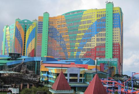 First World Hotel exterior and theme park