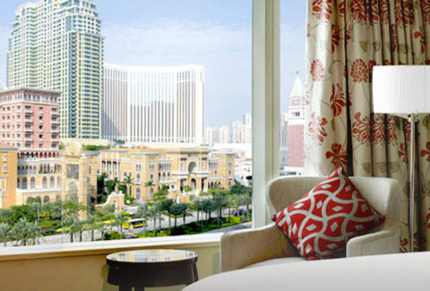 Sheraton Macao hotel room view