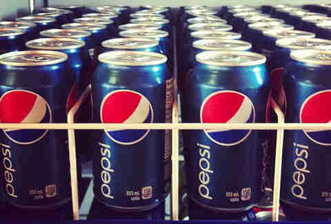 Pepsi lifetime supply