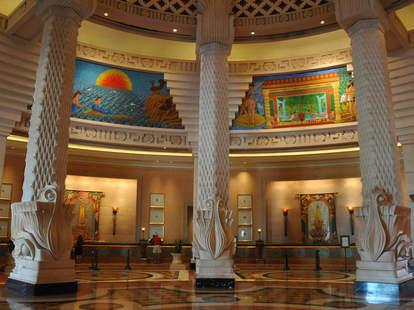 Atlantis hotel main lobby